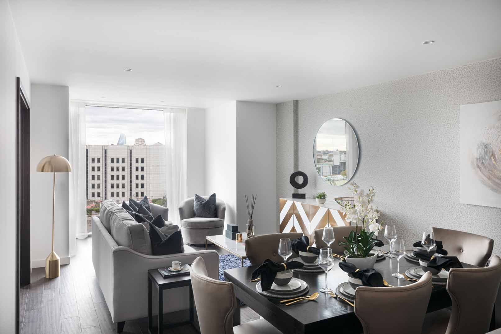 Royal Mint Gardens lounge