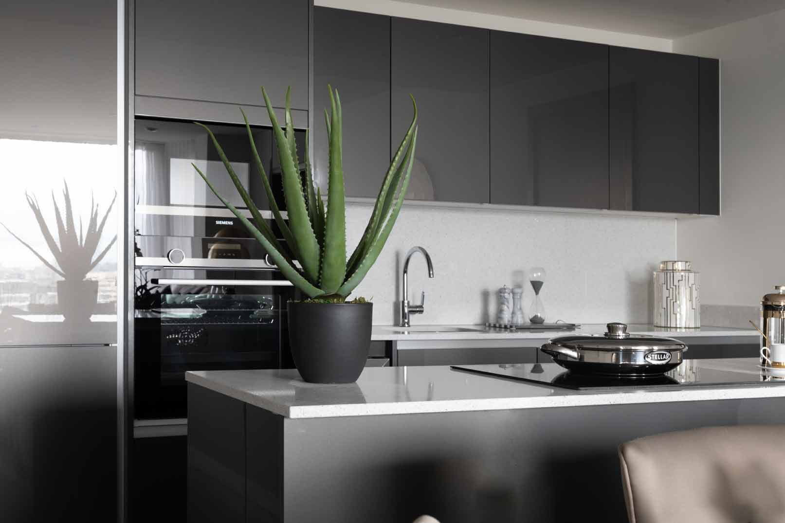 Royal Mint Gardens kitchen